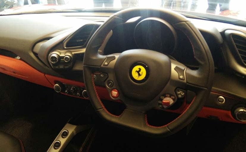Ferrari 488 GTB Interiors
