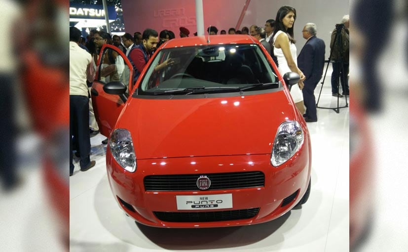 fiat new release carAuto Expo 2016 Fiat Punto Pure Launched Prices Starting at Rs