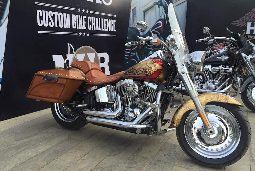 Harley-Davidson Customized Bike