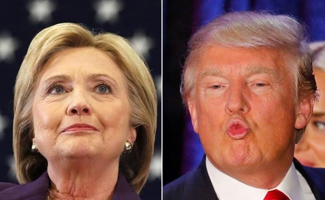 Hillary Clinton Leads Donald Trump By 6 Points: US Poll