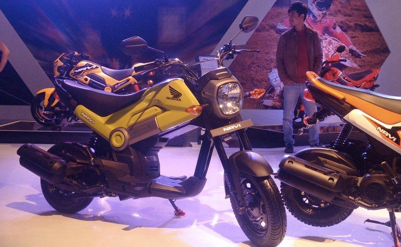 Auto Expo 2016: Honda NAVI Mini Bike Launched; Priced at Rs 39,500
