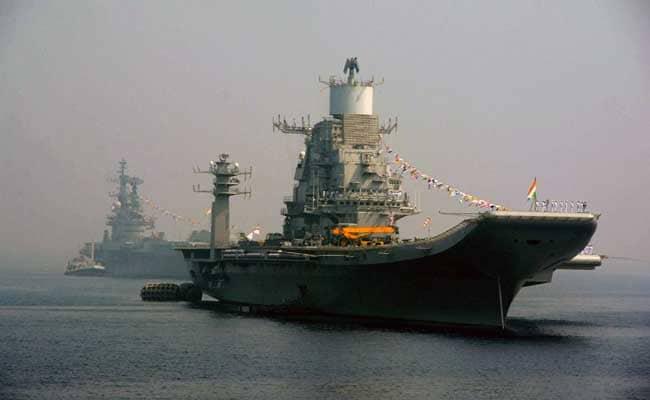 Naval Officer Dies In Fire Onboard INS Vikramaditya Near Karnataka