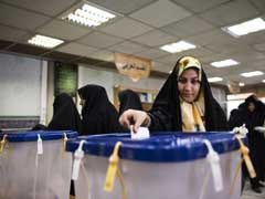 In Iran, Waiting To Vote Is Another Selfie Opportunity