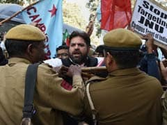 Protests Spread Across India Over Arrest Of Phd Student Accused Of Sedition