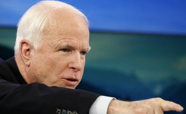 US Senator McCain Vows To Fight Cancer, Return To Washington