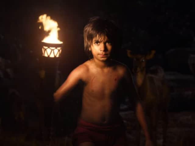 Shere Khan vs Bagheera in Jungle Book Trailer. The Prize is Mowgli