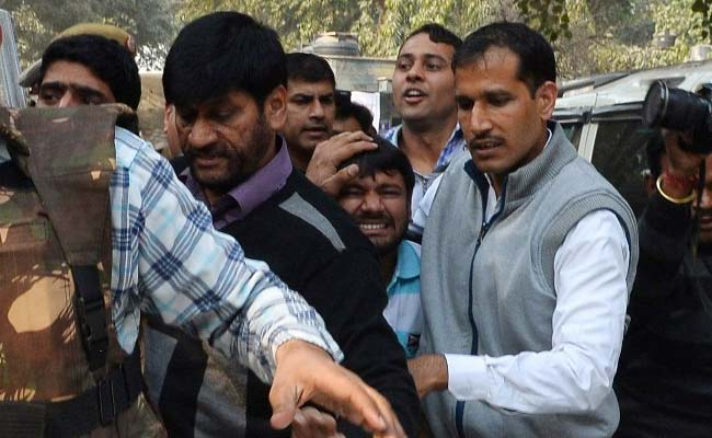 'We Hit Him,' Proud Lawyers Said To Police After Attacking Kanhaiya Kumar