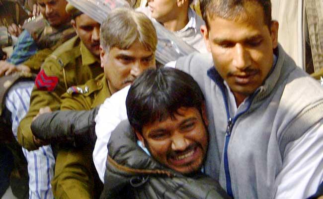 जेएनयू विवाद : कन्हैया कुमार को अज्ञात जगह ले जाया गया