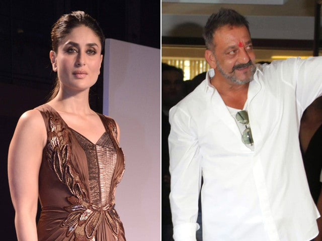 Fan Girl Kareena Kapoor Says Sanjay Dutt Looks 'Absolutely Amazing'