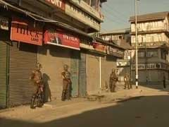 Clashes In Parts Of Kashmir During Strike Backed By Separatists