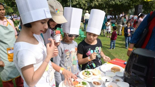 Kids Culinaire 2016: A Food Festival Where Kids Learn to Make Healthy Choices