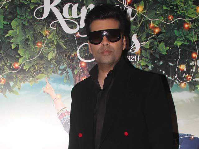 For Karan Johar, no Acting Offers After 'Disastrous' Bombay Velvet