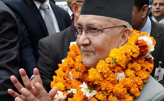 Nepal Prime Minister K P Oli Celebrates 65th Birthday In India