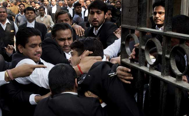 Patiala House Court Violence: Lawyer Om Sharma Arrested For Leading Attack