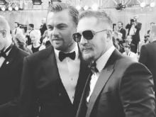 Oscars 2016: Leo, Tom Hardy on the Red Carpet. Together. End of Story
