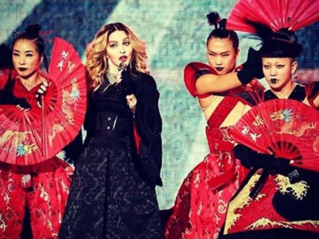 Madonna Embroiled in Taiwan-China Row For Using Flag in Concert