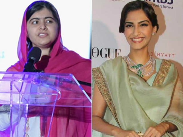 Malala Yousafzai Watched Sonam Kapoor's Neerja. 'Glad She Liked It'