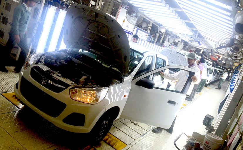 Maruti Suzuki Alto Production Line