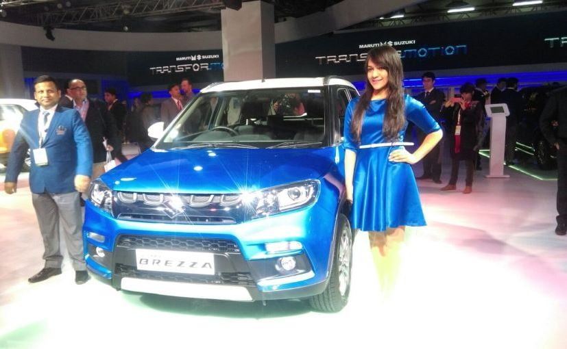 Auto Expo 2016: Maruti Suzuki Vitara Brezza Unveiled; Specs and Features Here