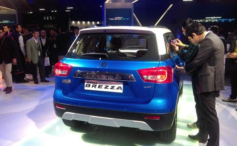 Maruti Suzuki Vitara Brezza Rear