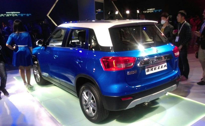 new car launches in chennaiAfter Maruti Suzuki Vitara Brezza Indian Engineers to Head