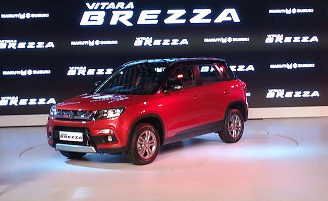new car launches maruti suzukiAfter Maruti Suzuki Vitara Brezza Indian Engineers to Head