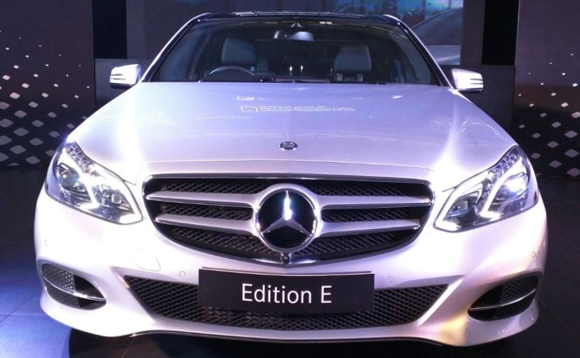 Mercedes Benz E Class Limited Edition Launched In India Prices