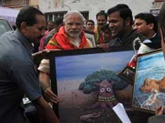 PM Narendra Modi Invites Sand Artist To Train Young People Of Gujarat