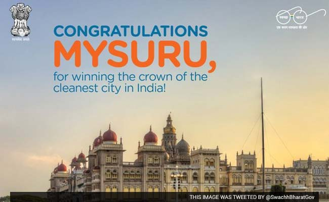 Cleanest Cities in India Are...(Yes, Mysuru, You're Still Up There)