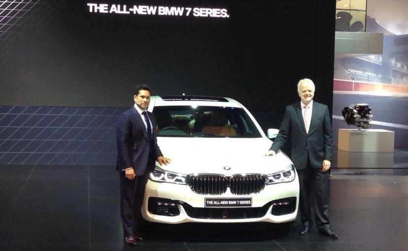 Sachin Tendulkar launches the new BMW 7 Series