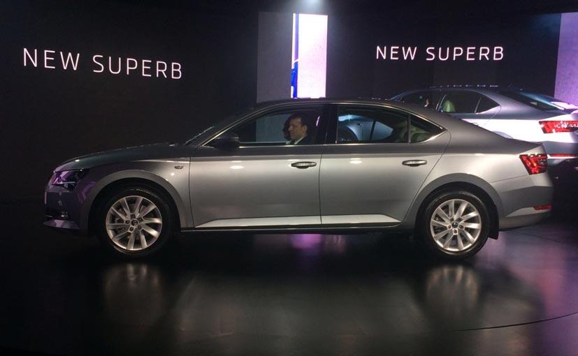 New Skoda Superb Launch