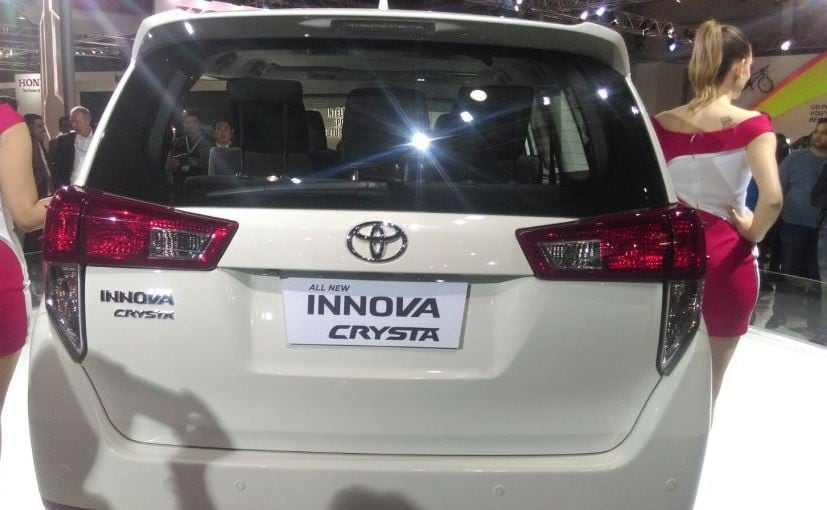 Auto Expo 2016 New Toyota Innova Crysta Unveiled In India