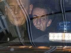 Former French President Nicolas Sarkozy In Court Over Campaign