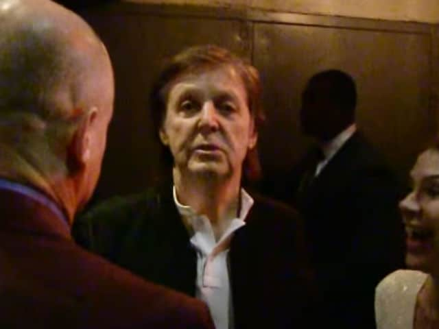 Paul McCartney Not Allowed Into Tyga's Grammy Party. Strange Days Indeed