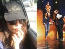 Oscars 2016: Priyanka Chopra Shares Pics From Her 'Dream in Gold'