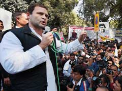 PM Anti-Dalit, We'll Defeat BJP In 2019: Rahul Gandhi After Protest Fast