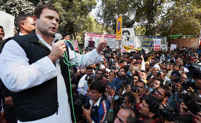 Rahul Gandhi Arrives At Rajghat For Congress's Nationwide Fast Against Government, Non-Functioning Of Parliament: Highlights