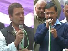 राहुल गांधी ने आम आदमी पार्टी को ऑफर की दिल्ली की 4 सीटें, केजरीवाल बोले- गठबंधन आपकी इच्छा नहीं सिर्फ दिखावा