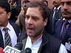 अपने बजट भाषण में जेटली ने कांग्रेस उपाध्यक्ष राहुल गांधी का भी किया जिक्र