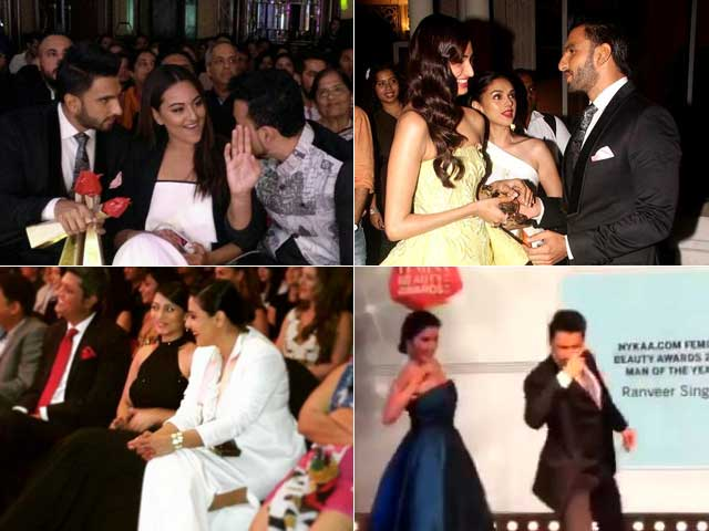 Femina Beauty Awards: How Ranveer, Sonakshi Made it a Blockbuster Affair