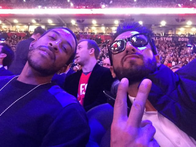 All the Stars Ranveer Singh Met at the NBA Game he Went to in Toronto