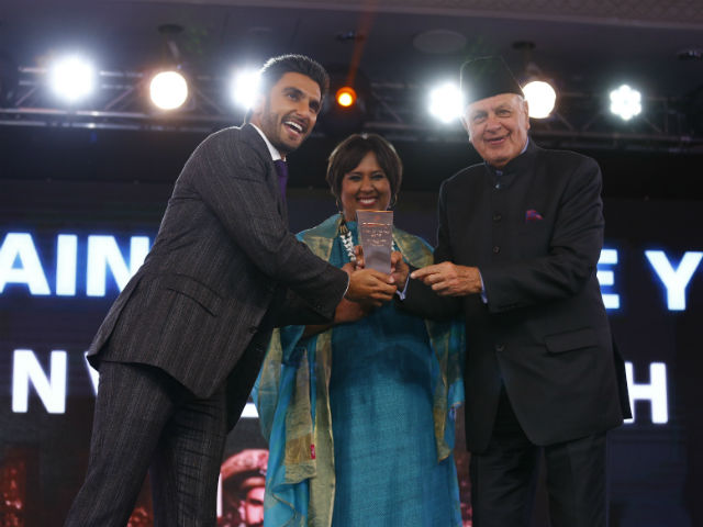 Ranveer Singh Thanks NDTV For Award, Says 'I'm Humbled'