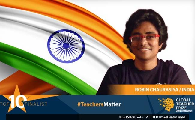 Mumbai Teacher Makes It To Global Top 10 For USD 1 Million Prize