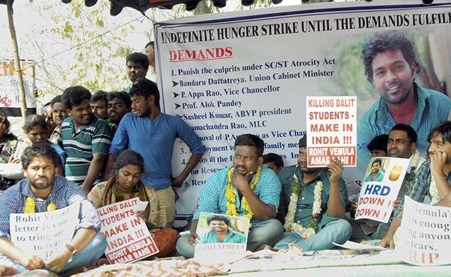 Rohith Vemula's Makeshift Memorial At Hyderabad University Gone: Students