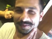 Shahid Kapoor Fears No One. Wait, Sorry Mira, Didn't See You There