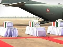 Army Pays Tribute To Siachen Martyrs As Bodies Arrive In Delhi