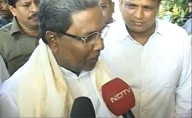 Not Potholes But Accidents, Says Chief Minister Siddaramaiah On Bengaluru Road Deaths