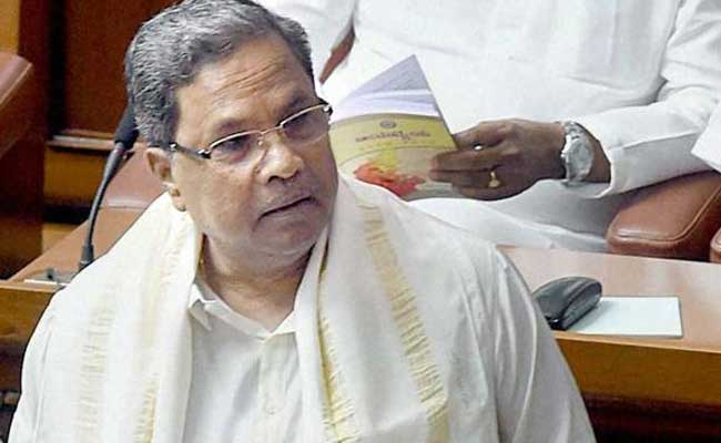 'Tourist' Amit Shah Showed 'Ignorance' About Karnataka, Says Chief Minister Siddaramaiah