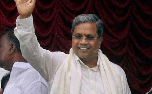 'Defeat Those Wanting To Change The Constitution': Karnataka Chief Minister Siddaramaiah