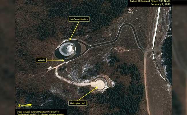 sohae satellite launching station afp